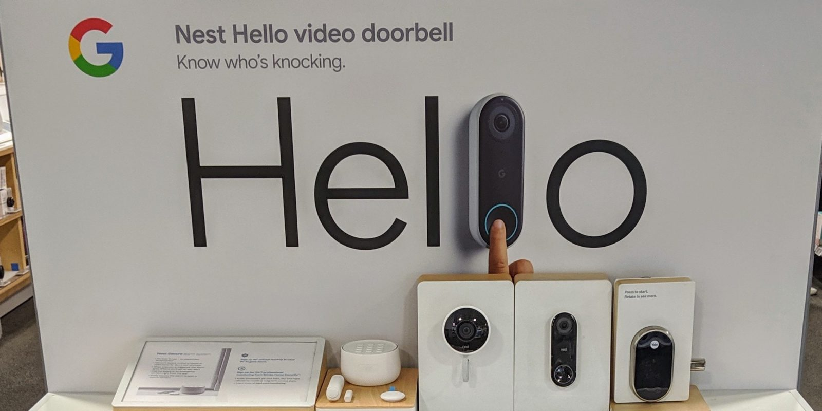 Google Nest rebrand stickers arrive on Nest Cam, Thermostat packaging