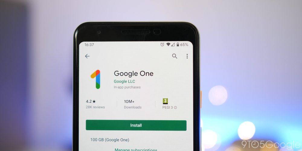 google one storage plan