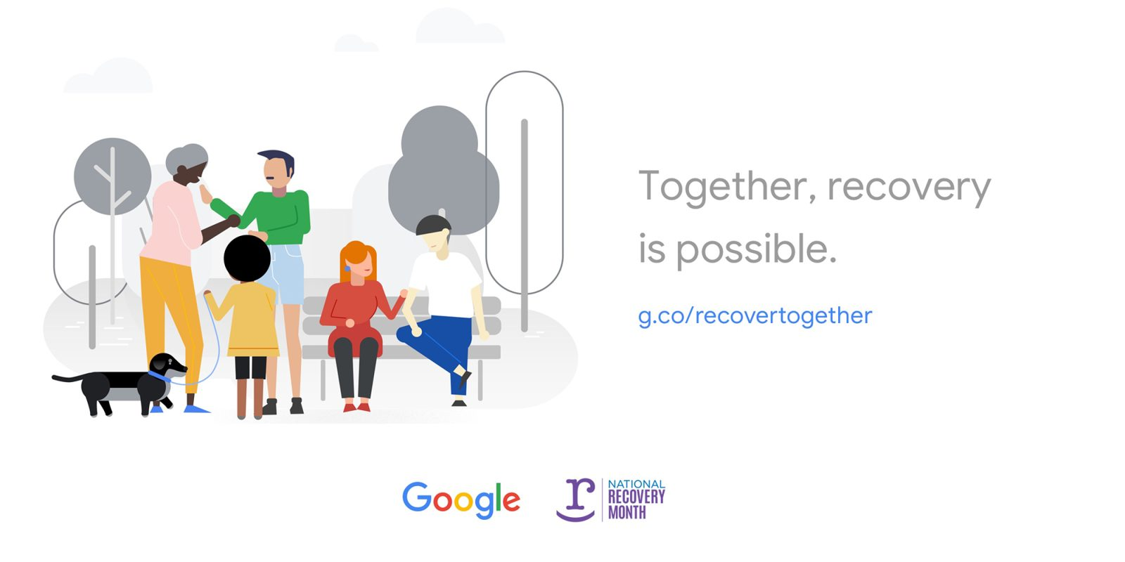 Google launches 'Recover Together' site ahead of National Recovery Month