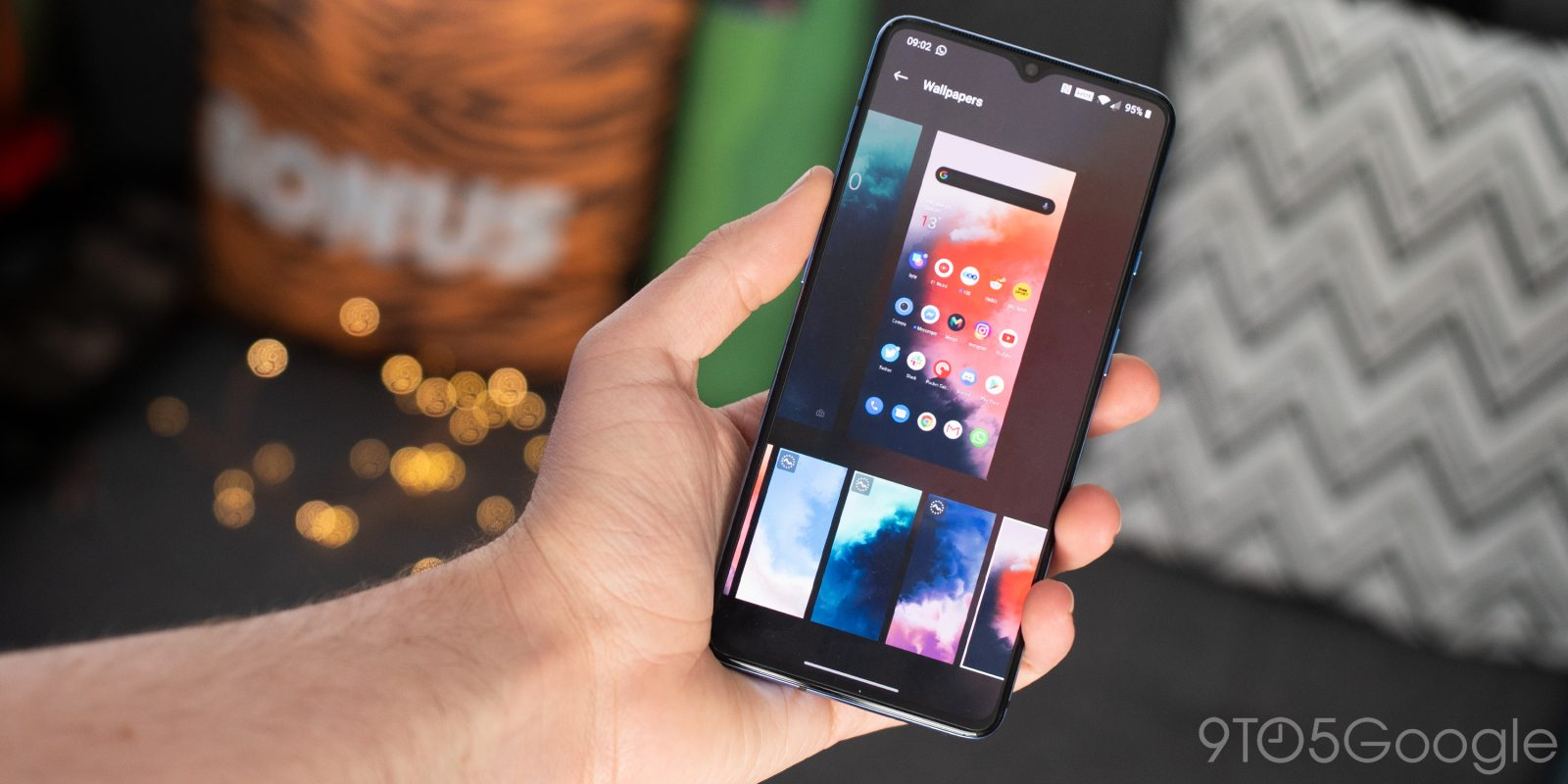 How To Download The Oneplus 7t Wallpapers To Your Phone