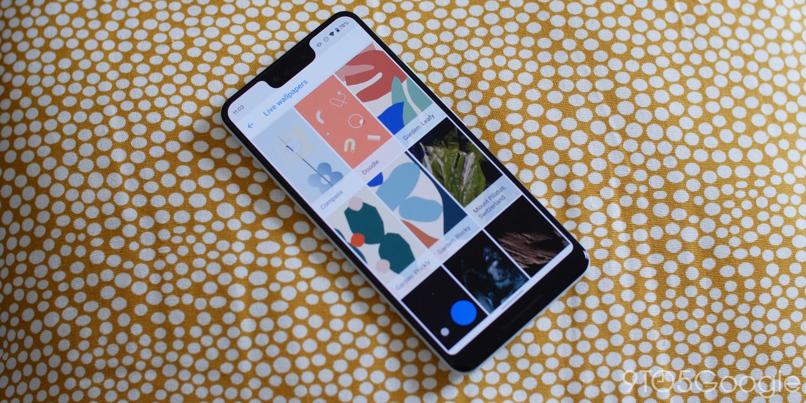Hands On With The New Google Pixel 4 Live Wallpapers Video