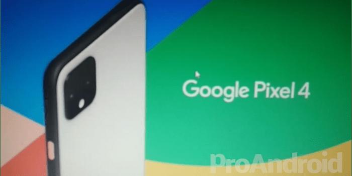 Pixel 4 Promo Video Leak