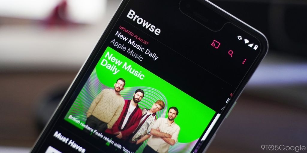 Shazam adds Apple Music integration to its Android app - 9to5Google