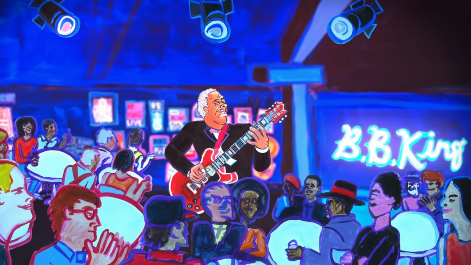Google honors the late, great B.B. King with video Doodle on his 94th birthday