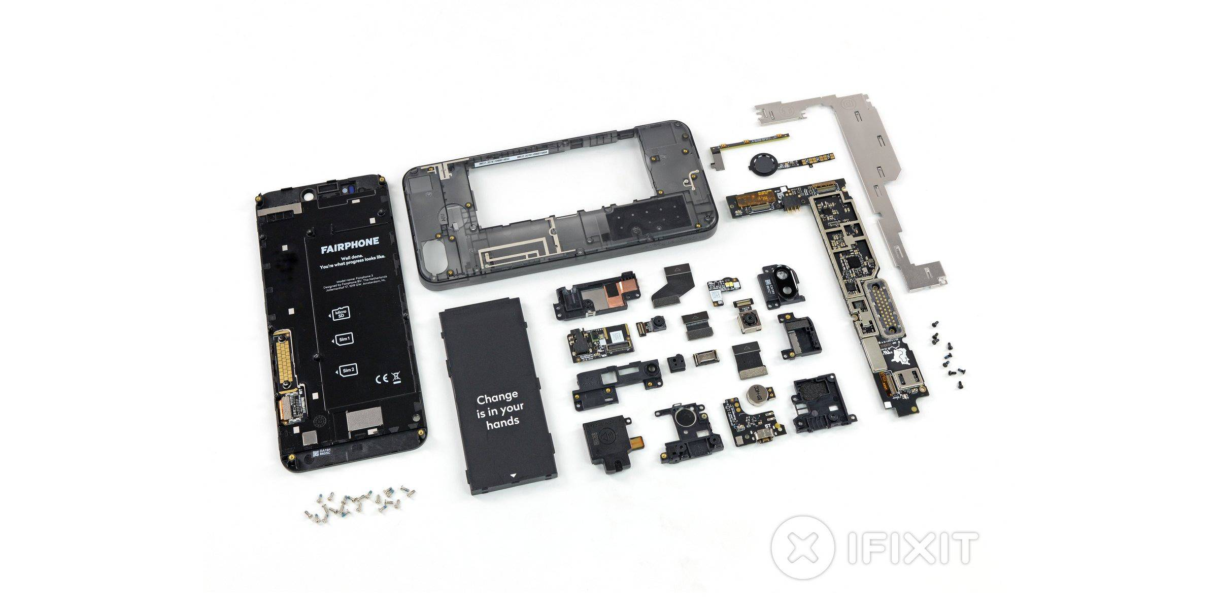 fairphone 3 repair score