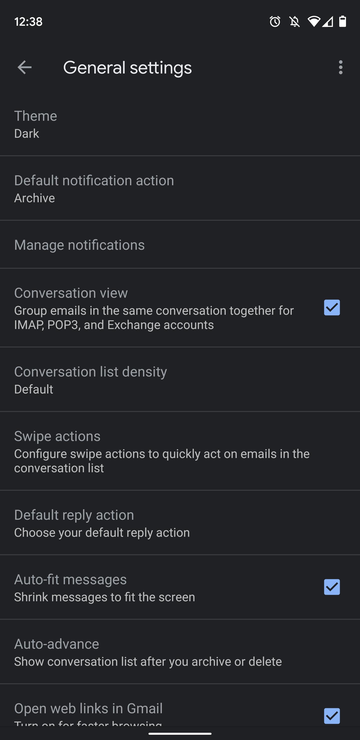Android 及 iOS 平台的Gmail 应用程序迎来深色模式 6