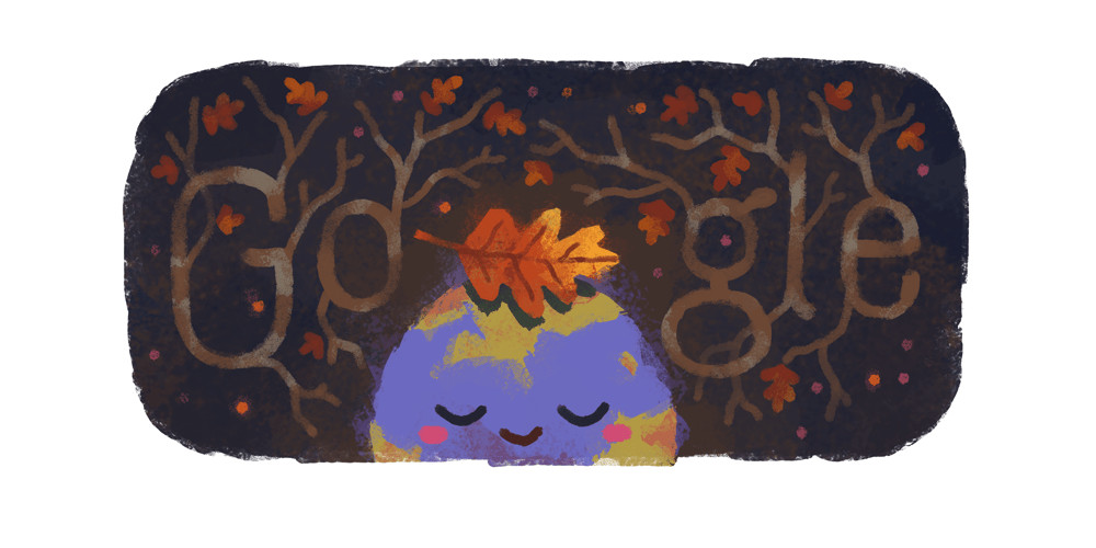 Google Doodle celebrates the first day of the fall season