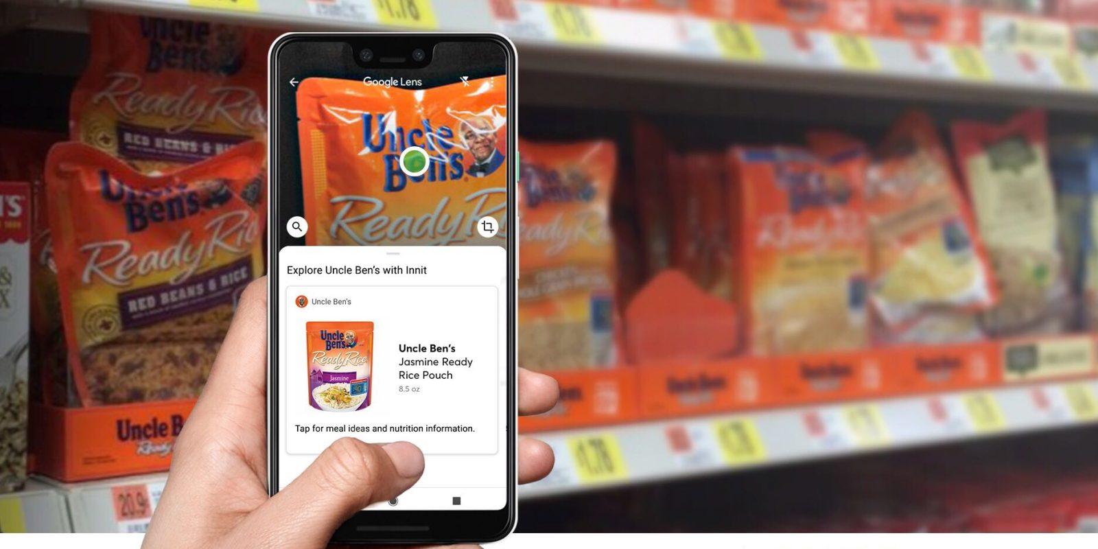 Google Lens gets first grocery and supermarket AR integration