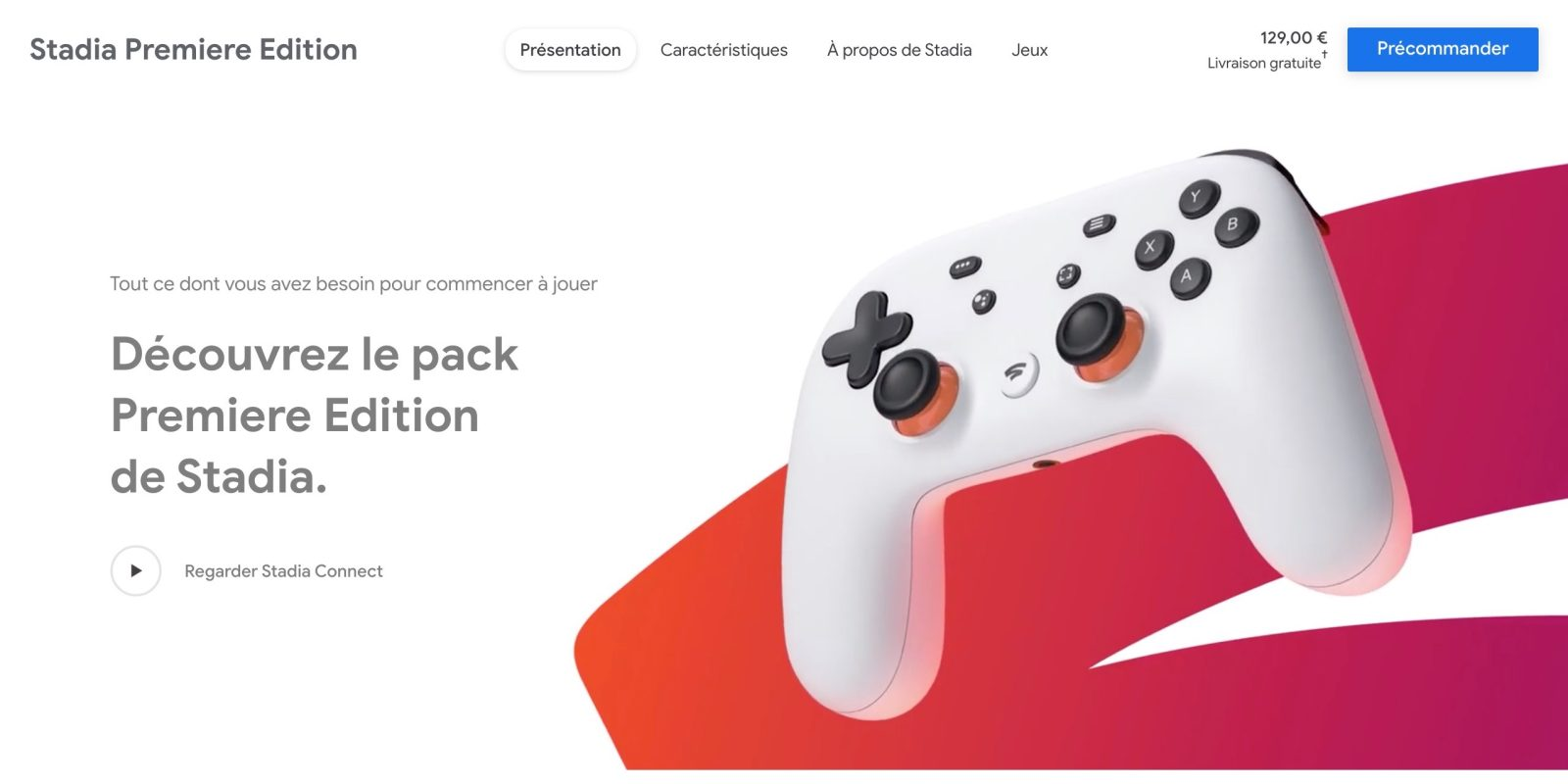 Stadia Founder's Edition sold out in 'most of Europe,' Google adds 'Premiere Edition'