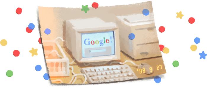 Google 21st Birthday Doodle