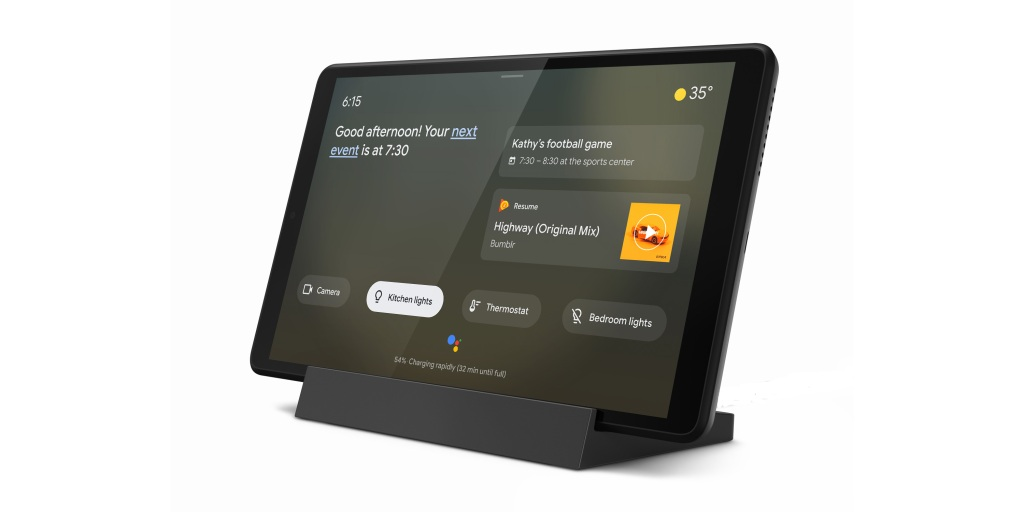 Lenovo has two new Android tablets w/ Google Assistant 'Ambient Mode' from $119