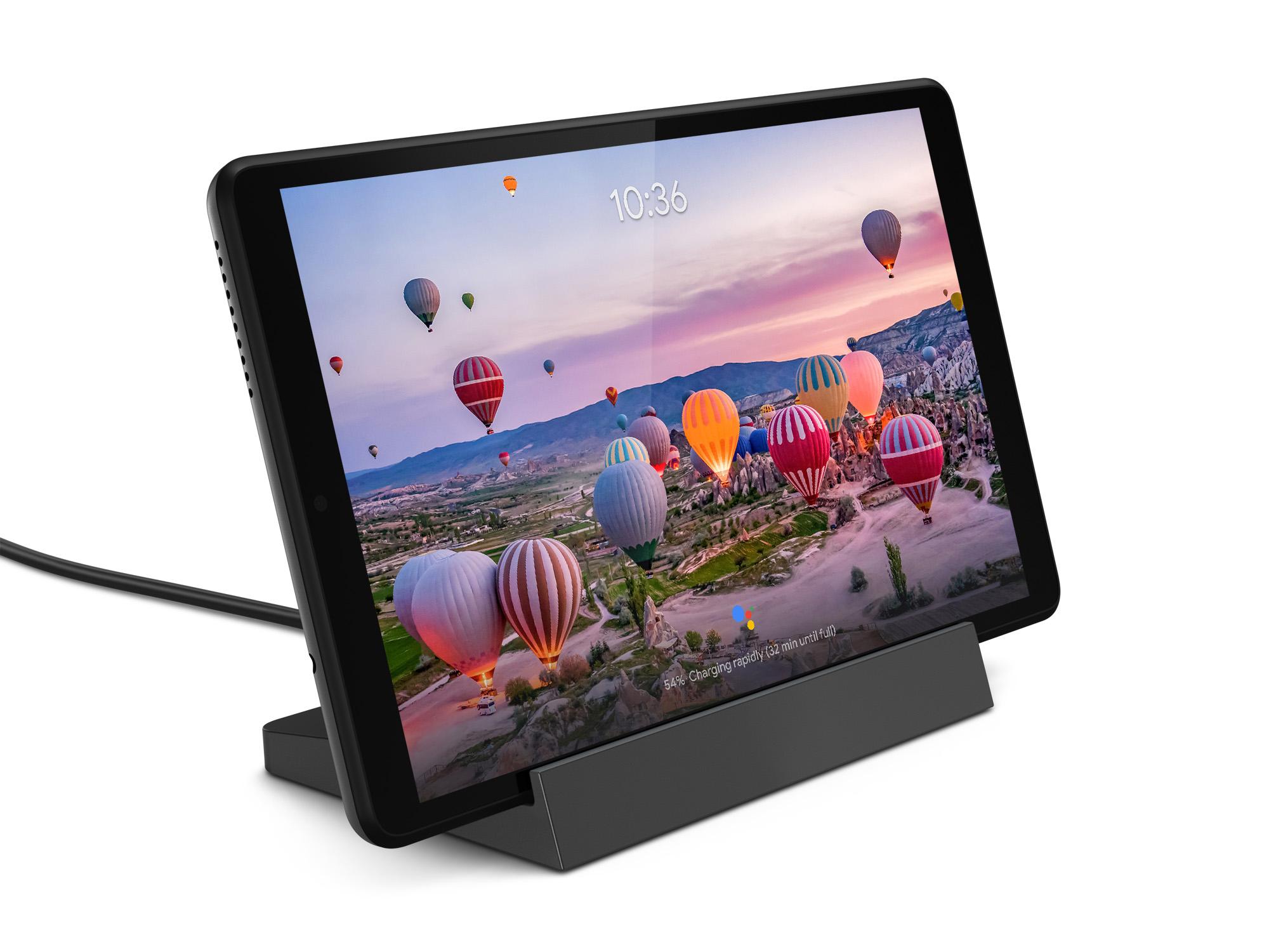lenovo smart tab m8 google assistant ambient mode tablet
