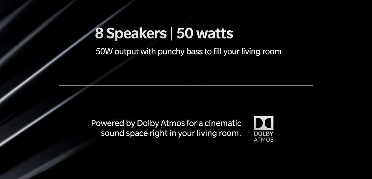 oneplus tv speakers
