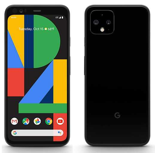 Update More In High Res First Official Google Pixel 4 4