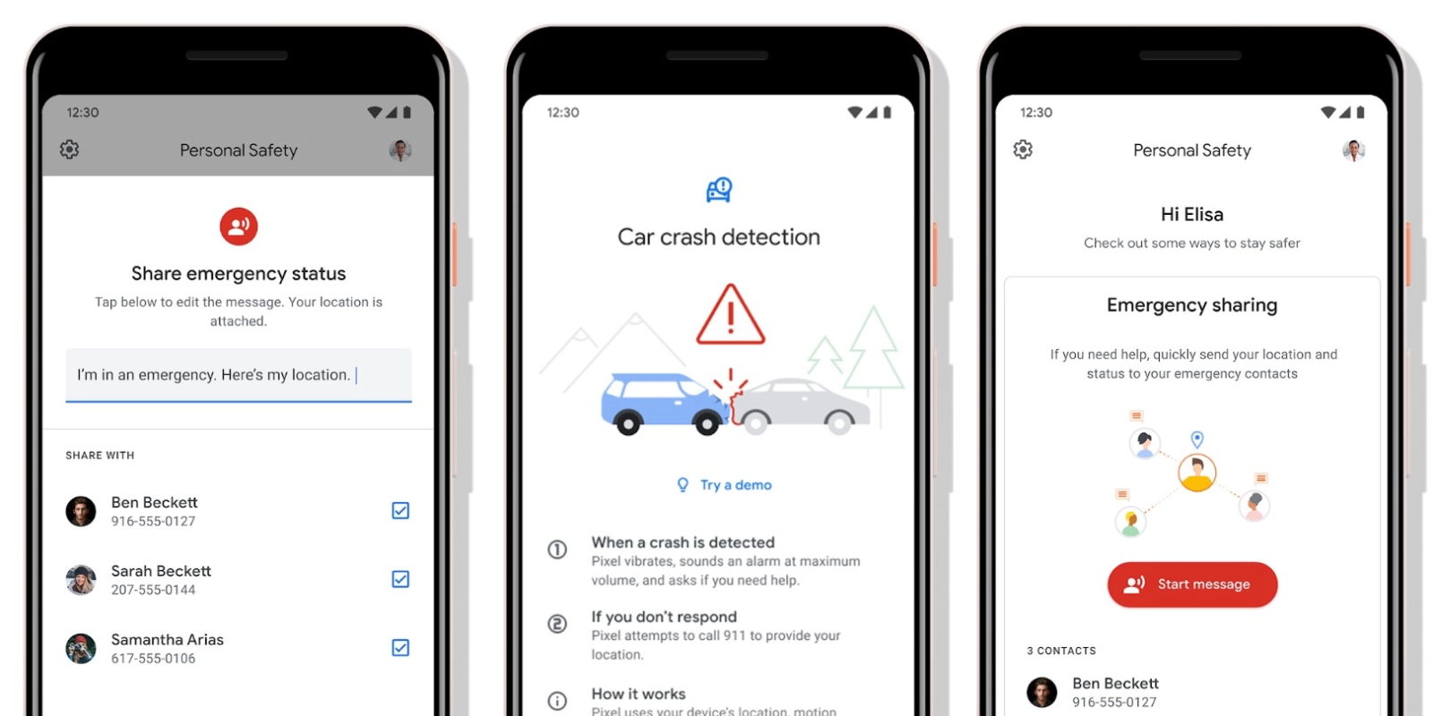 Google to launch 'Personal Safety' app w/ car crash detection for Pixel phones [Gallery]