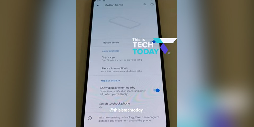 Pixel 4's 'Motion Sense' settings, features shown off in latest leak w/ more pics - 9to5Google thumbnail