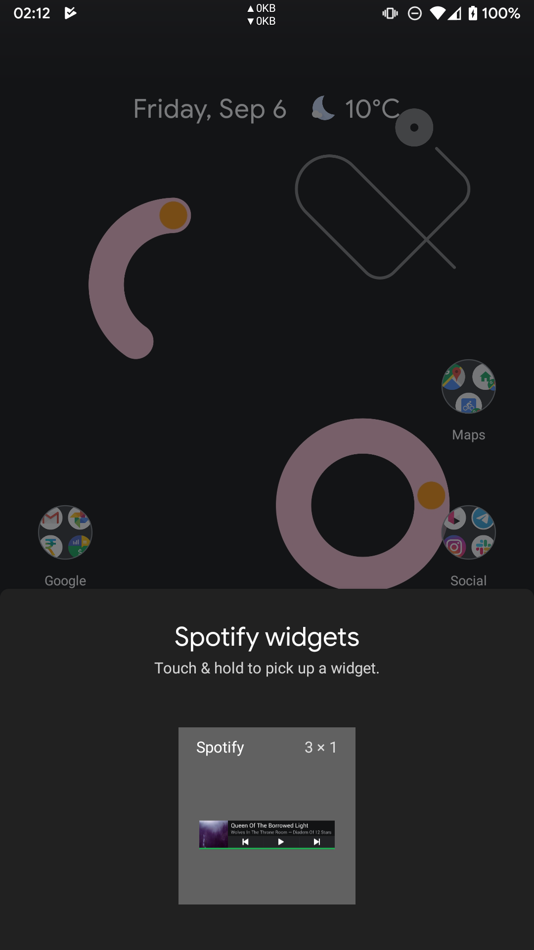 Spotify widget for Android is coming back in future update