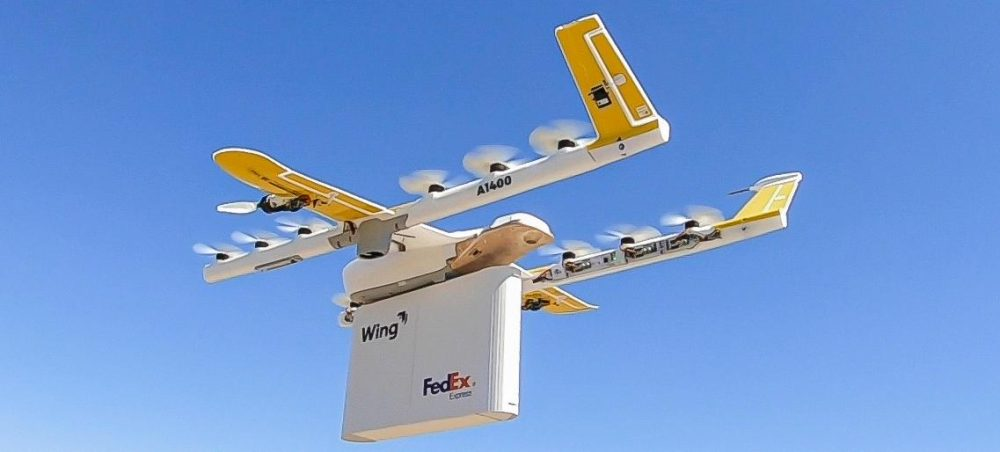 Wing trialing drone deliveries in Virginia with FedEx, Walgreens this fall
