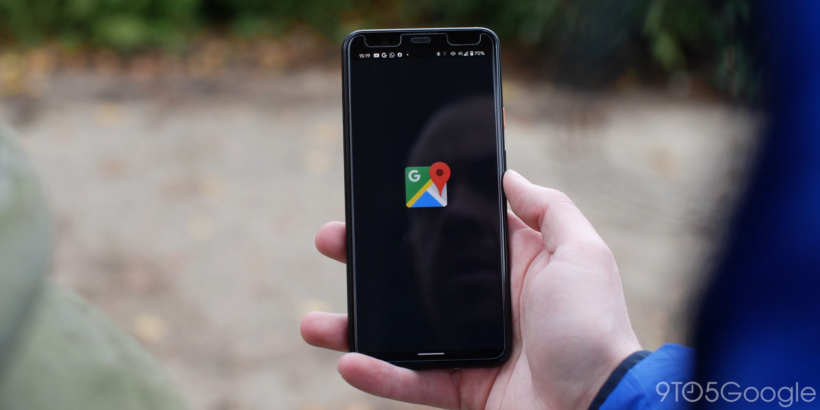 Google Maps for Android testing full bottom bar redesign