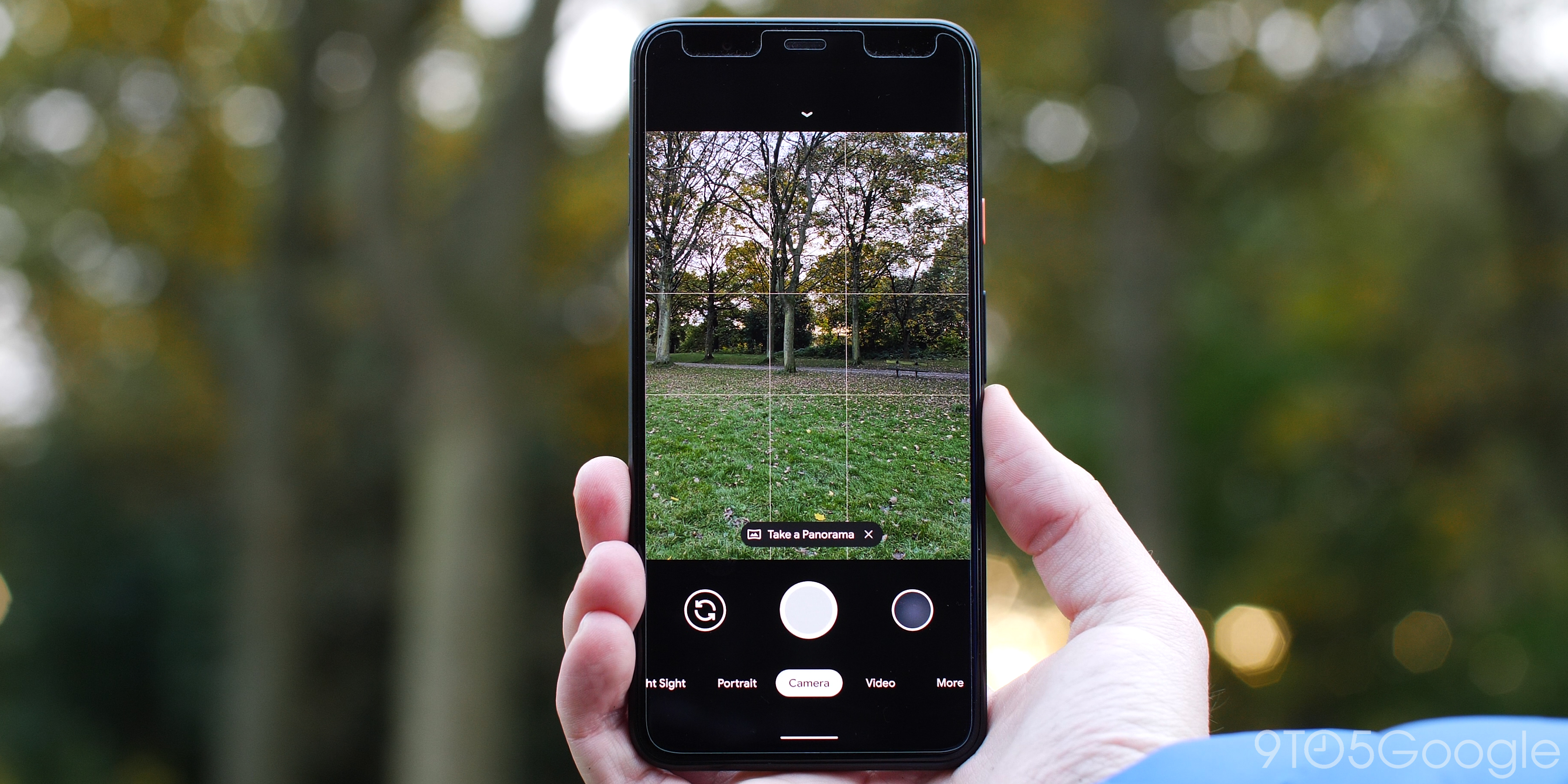 pixel 4 camera interface