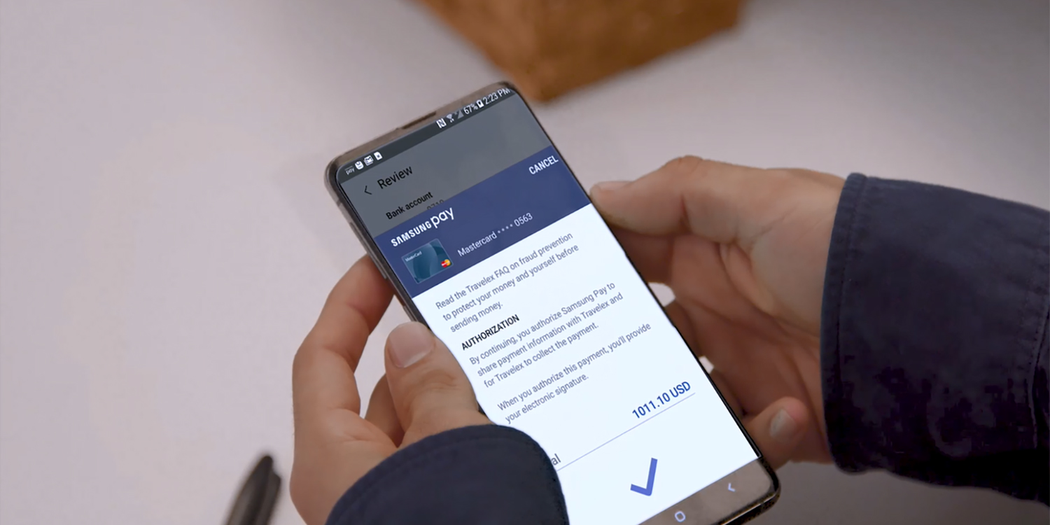 Samsung Pay now lets US users transfer money internationally