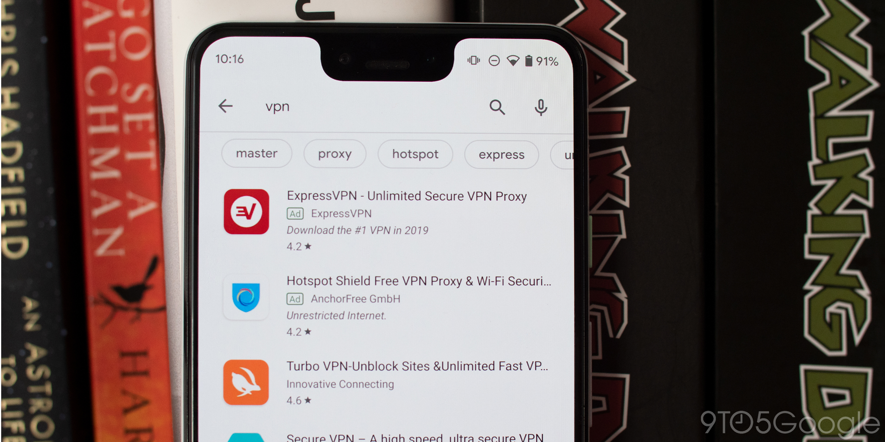 Google Play now lists download counts in store search results
