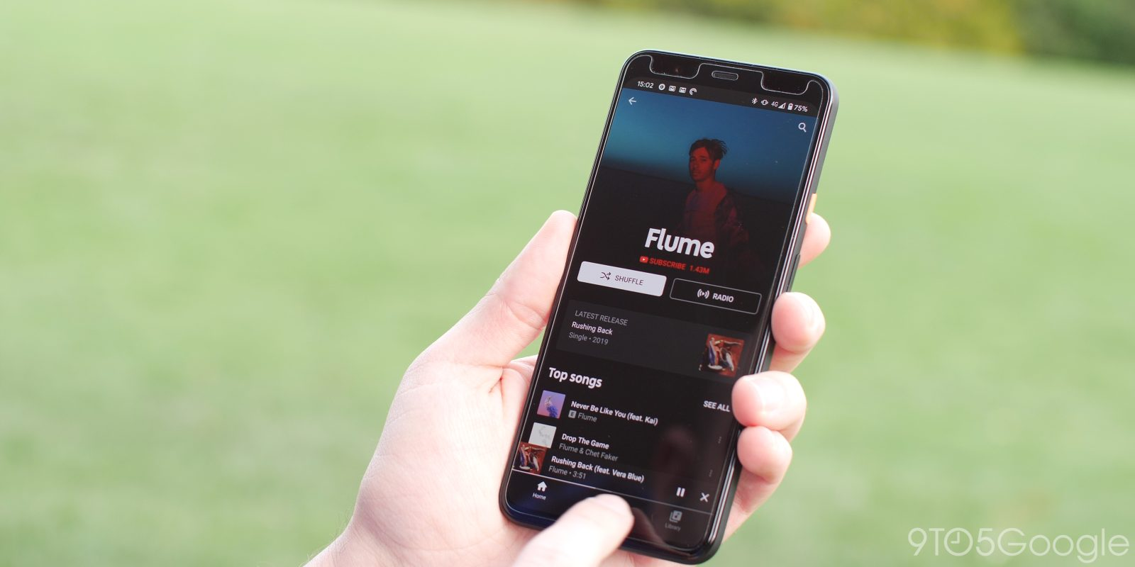 YouTube Music now lets you share artist profiles on Android, iOS