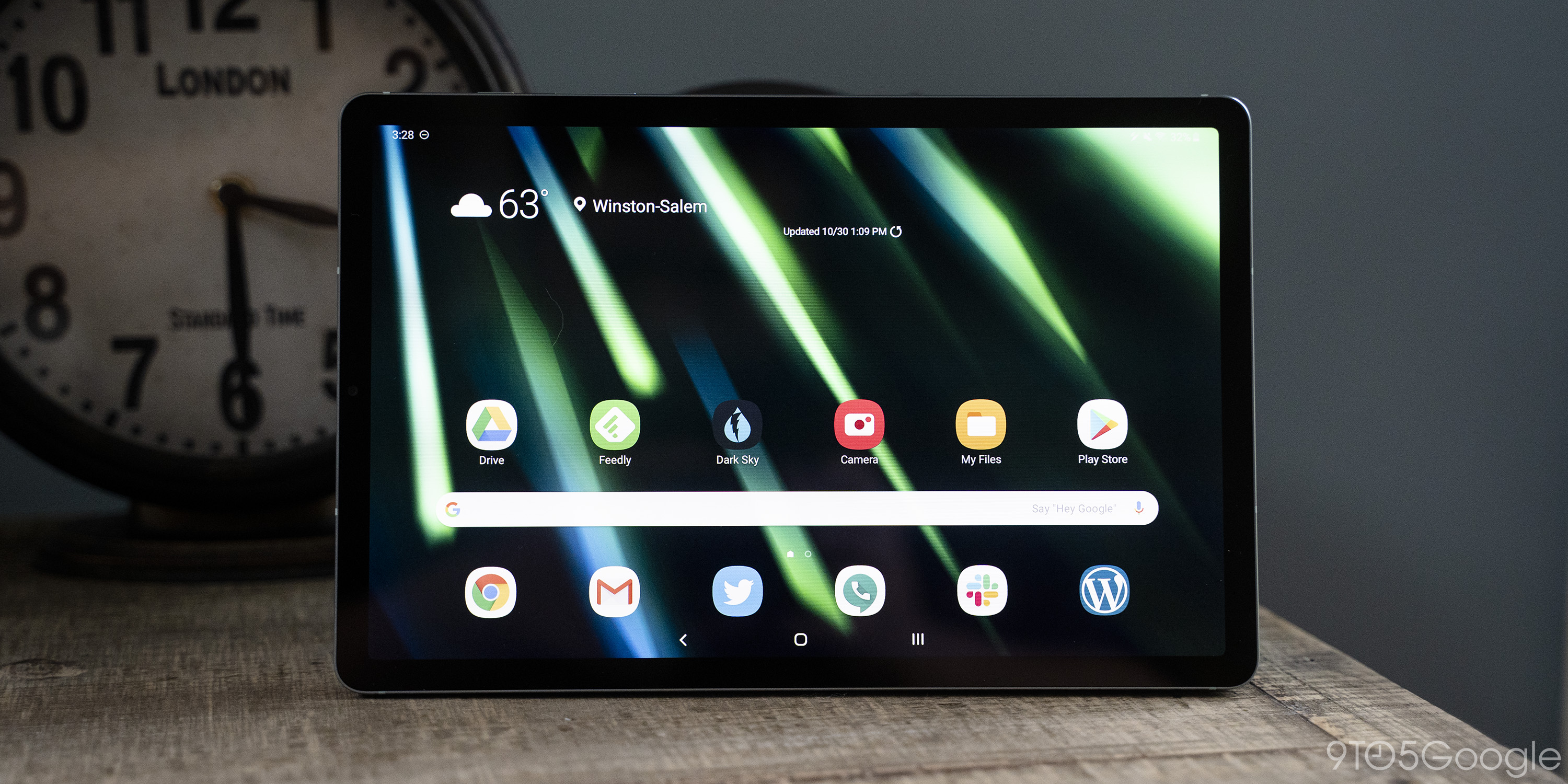 samsung galaxy tab s6 android display