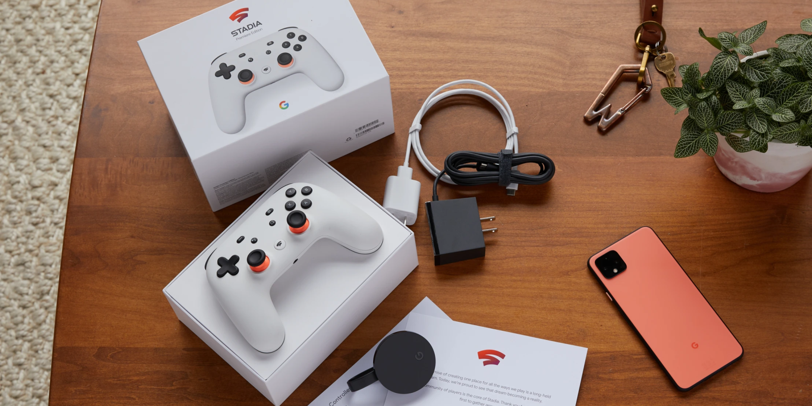 Stadia tidbits: Android app & TV UI, packaging, and mobile device support