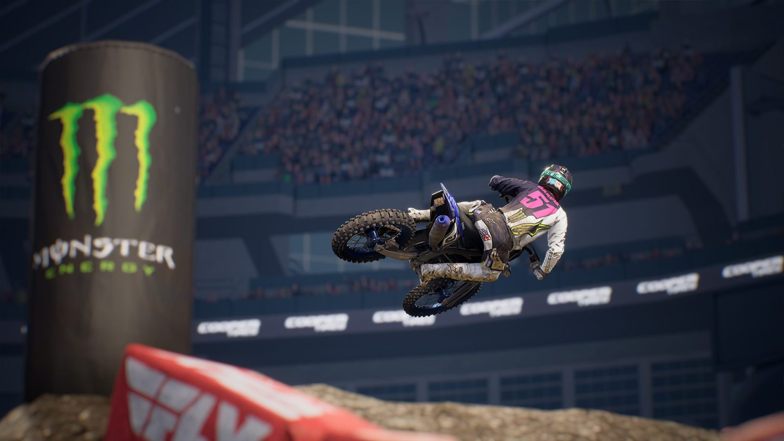 'Monster Energy Supercross 3' coming to Google Stadia in February