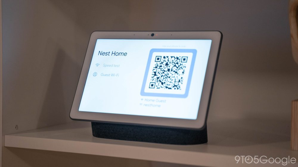 nest wifi smart display guest network sharing
