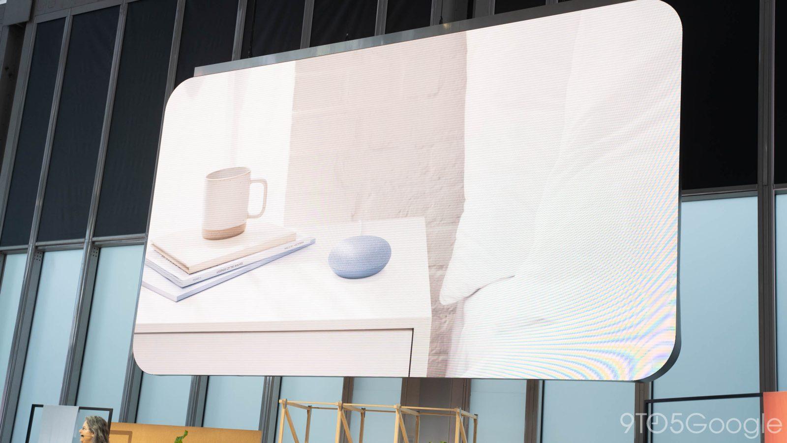 Google announces Nest Mini with better sound & wall mount, still $49