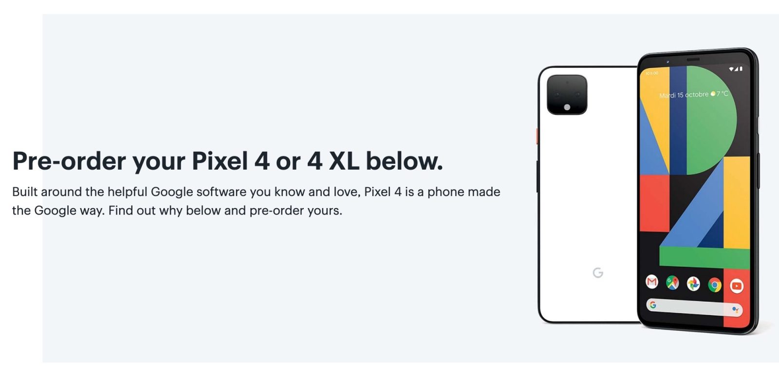 Pixel 4 fully detailed by Best Buy Canada with specs, comparison, and pre-order - 9to5Google 1