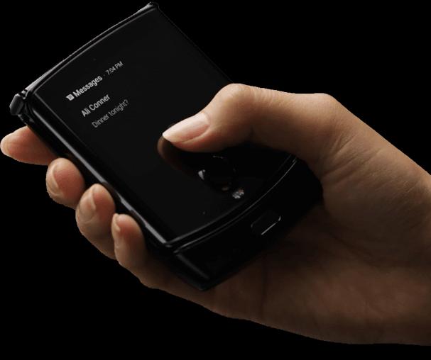 [Update: Displays] إليكم أول صورة رسمية لهاتف Razr القابل للطي من Motorola 3