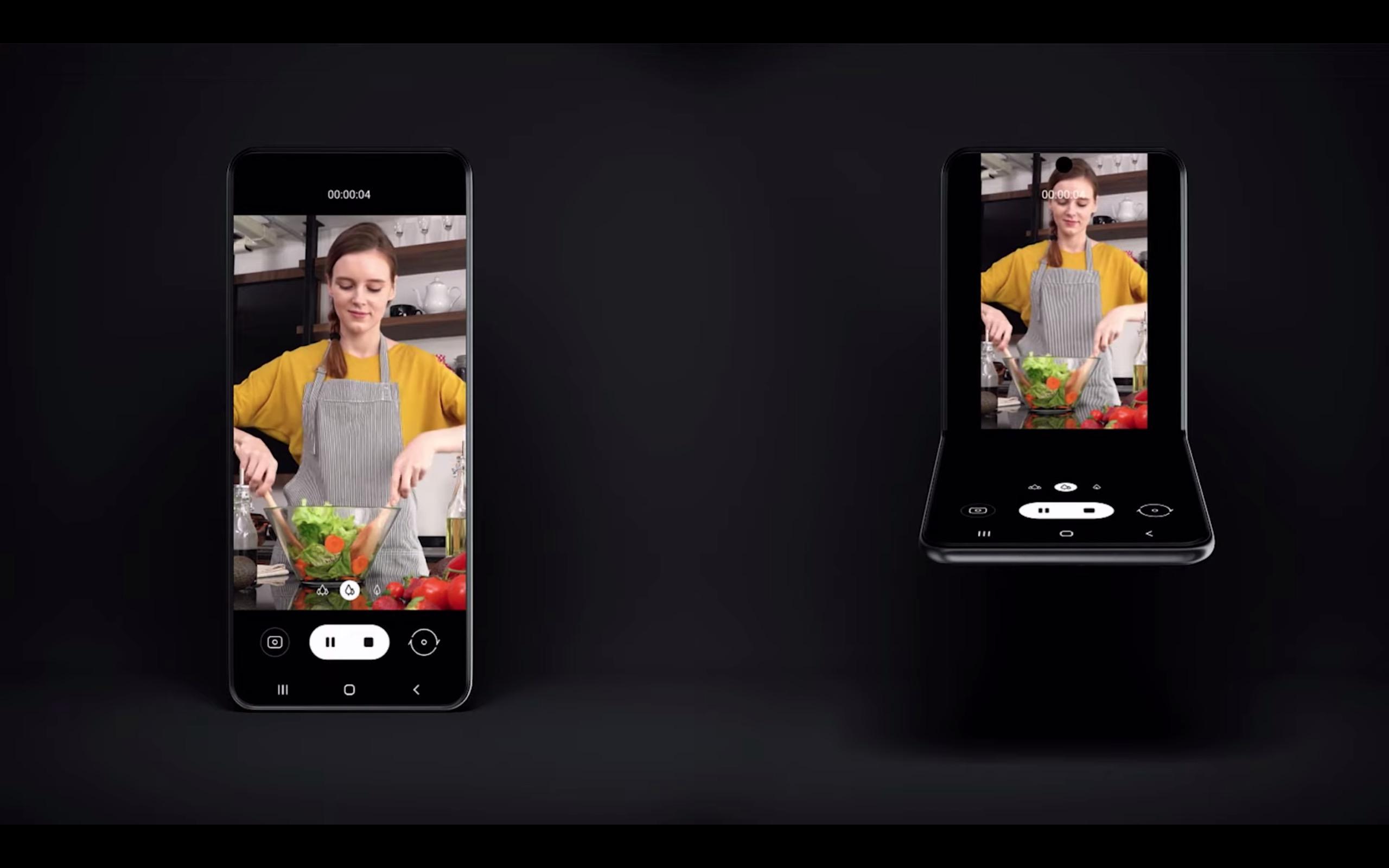 أول نظرة على هاتف سامسونج القابل للطي Fold 2