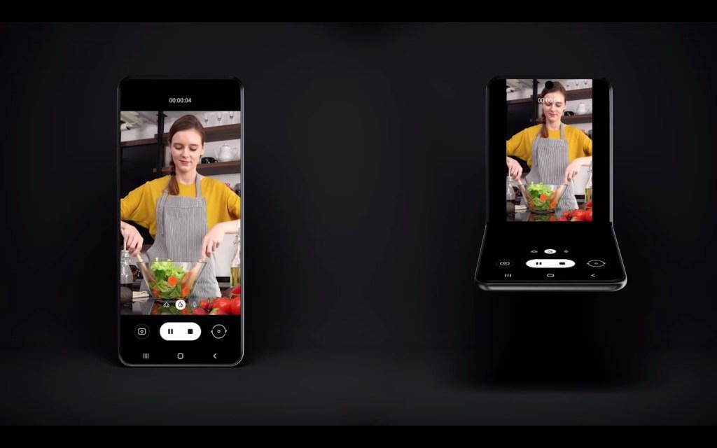 أول نظرة على هاتف سامسونج القابل للطي Fold 2 3
