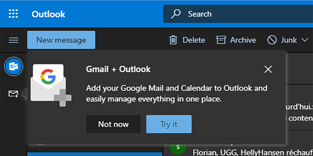 Microsoft to add Gmail, Drive, and Google Calendar integration to Outlook.com
