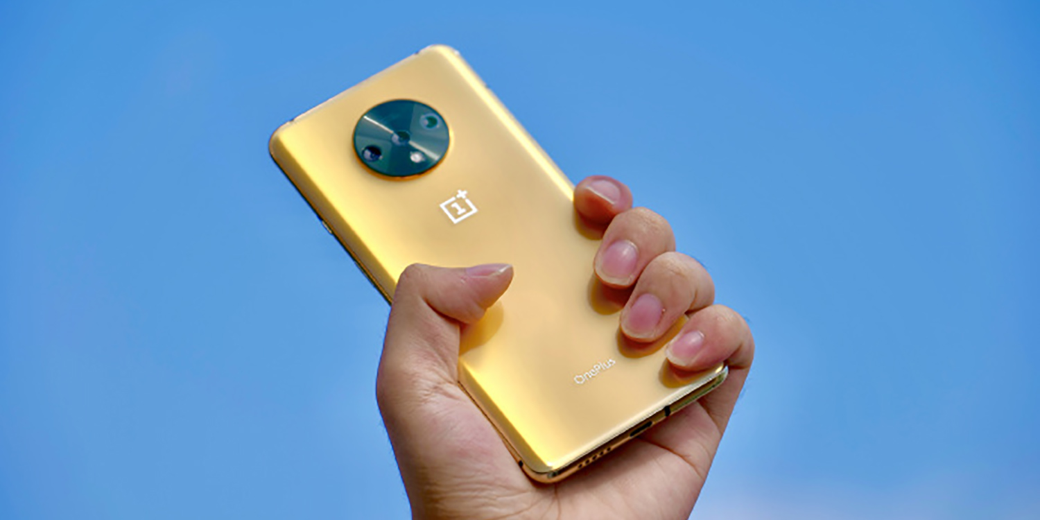 OnePlus designer teases us with an amazing unreleased gold OnePlus 7T