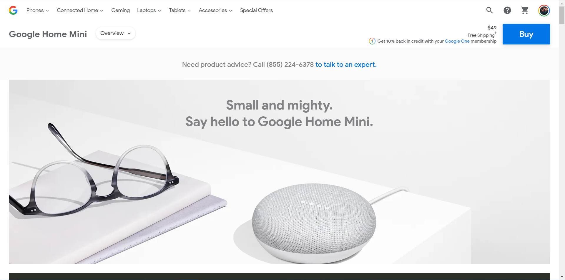 google home mini sales november 2019