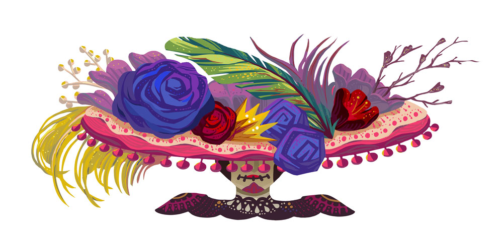 Google Doodle celebrates Day of the Dead 2019 w/ stunning artwork