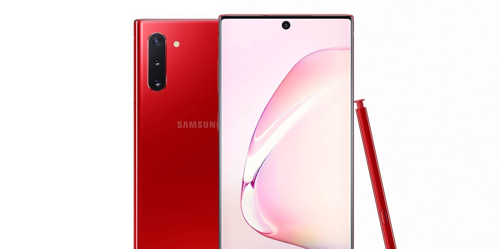 Galaxy Note 10 gets red and pink variants in US, $309 w/ Black Friday trade-in