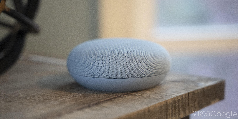 google nest mini sky blue
