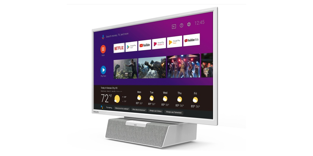 Philips debuts compact Android TV for the kitchen w/ Google Assistant built in