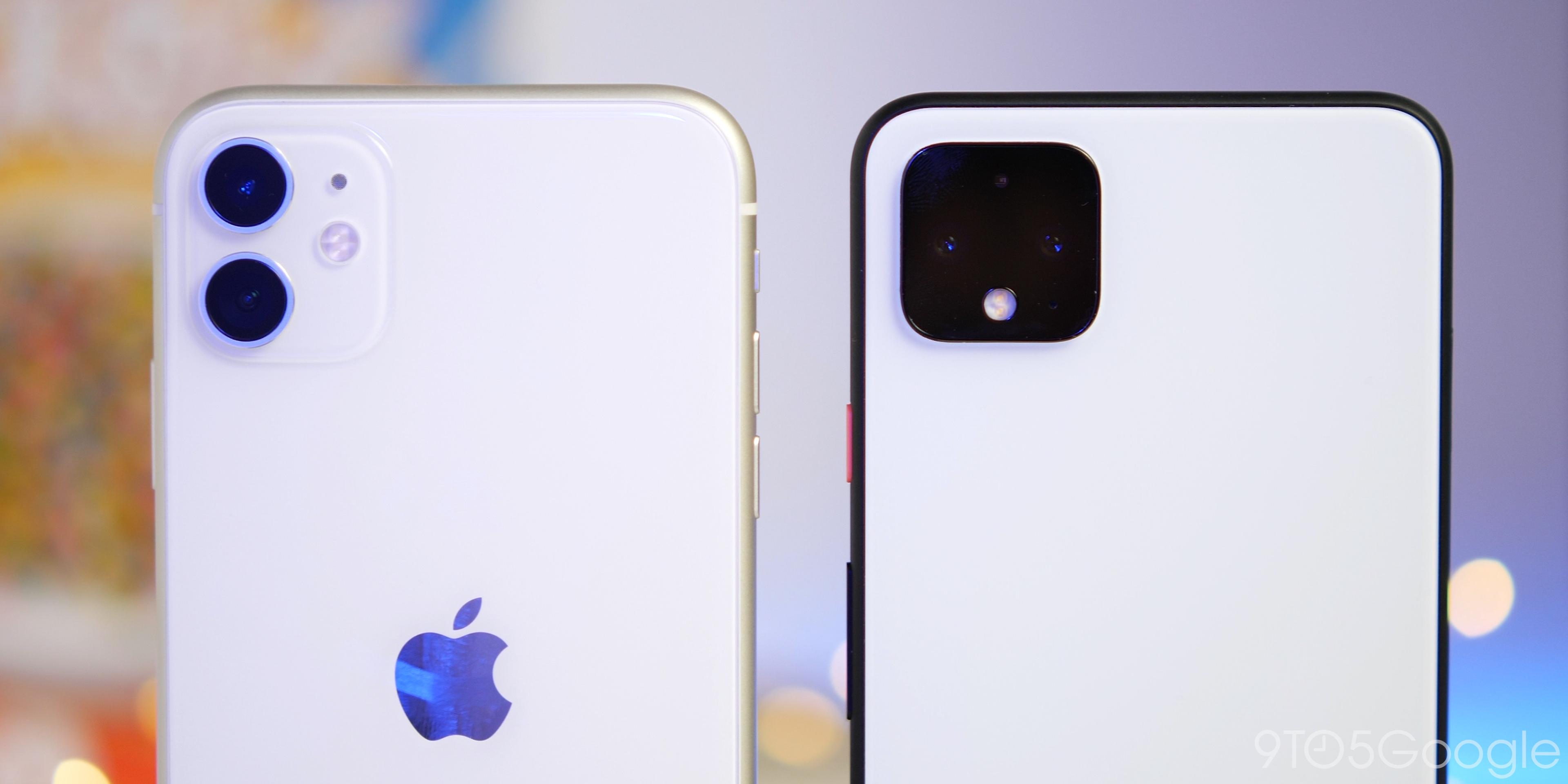 pixel 4 iphone 11