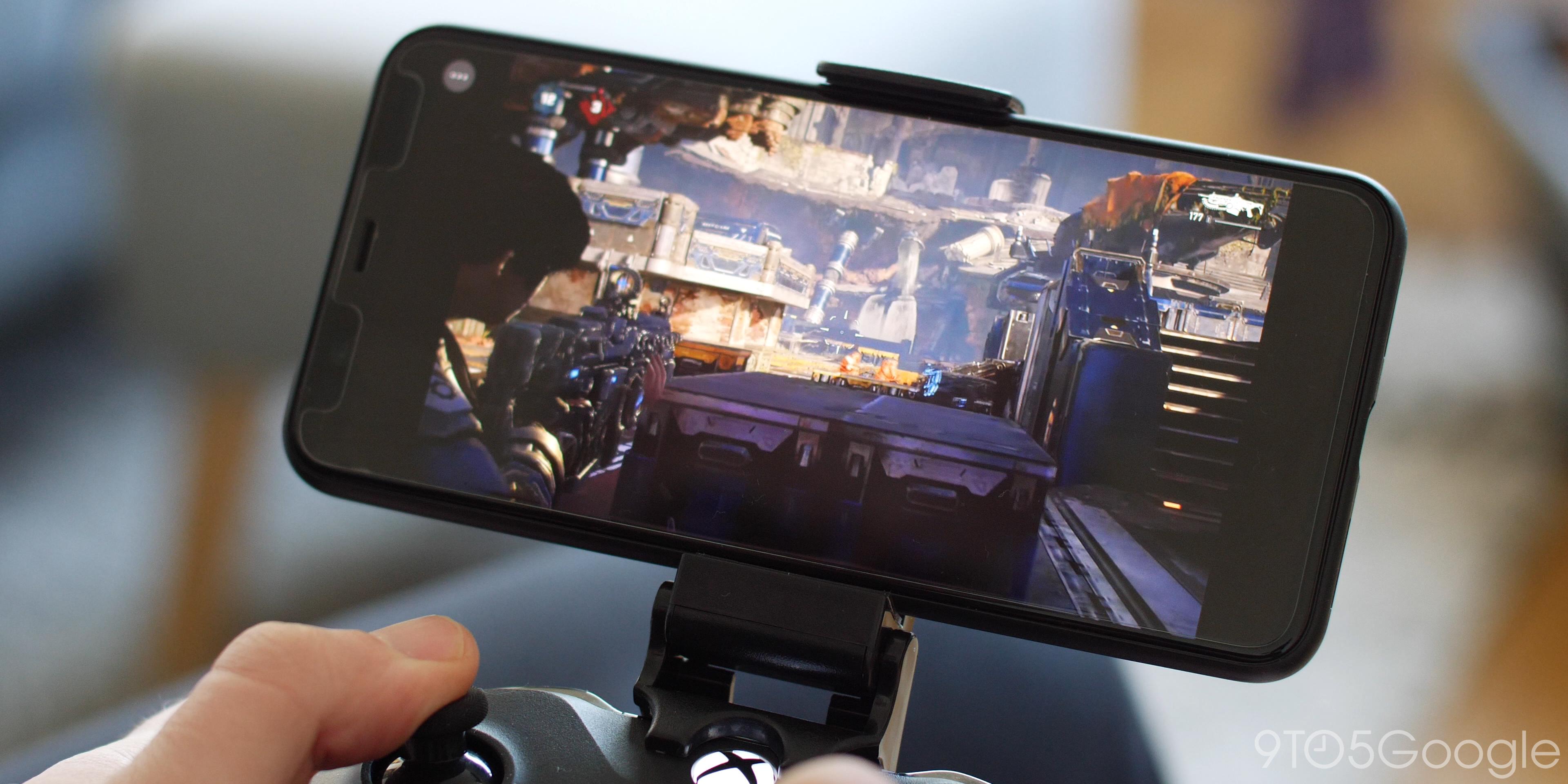 Microsoft xCloud online gaming gears 5