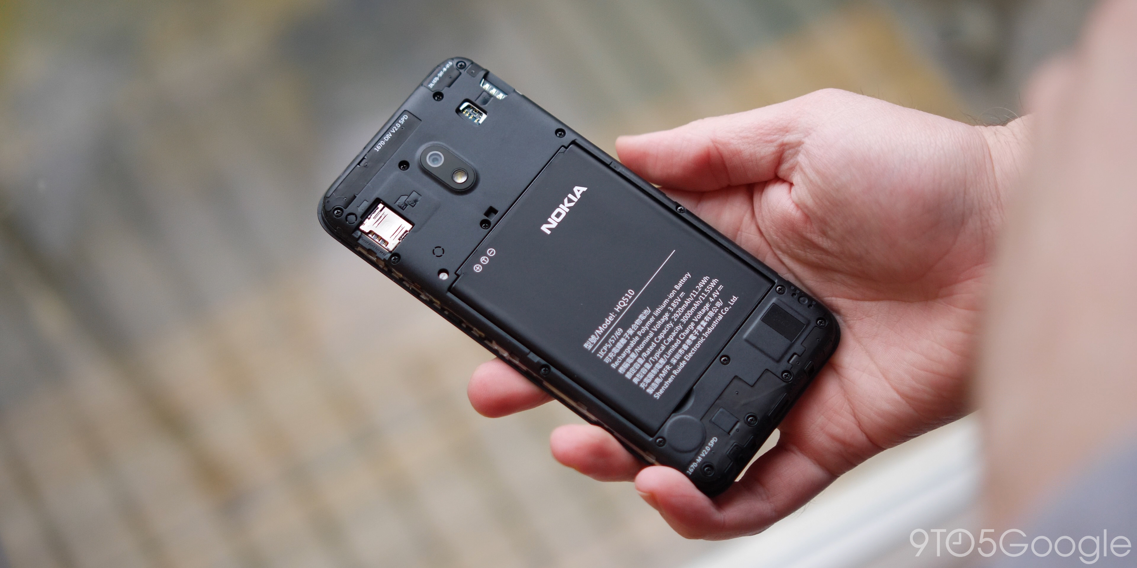 Nokia 2.2 battery
