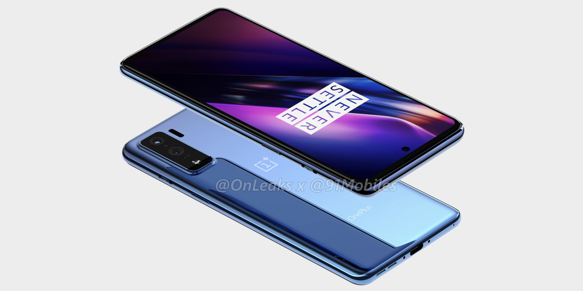 Supposed OnePlus 8 Lite renders show mid-range device w/ flat display, dual-camera, more