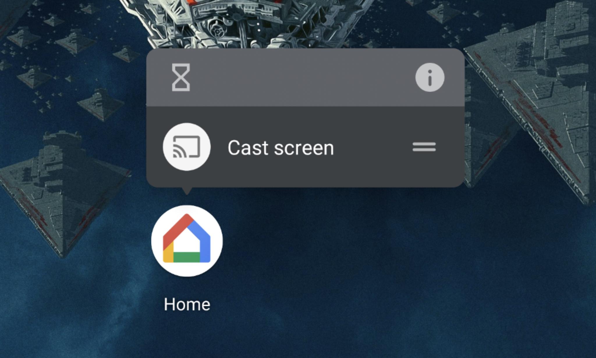 google home app shortcuts
