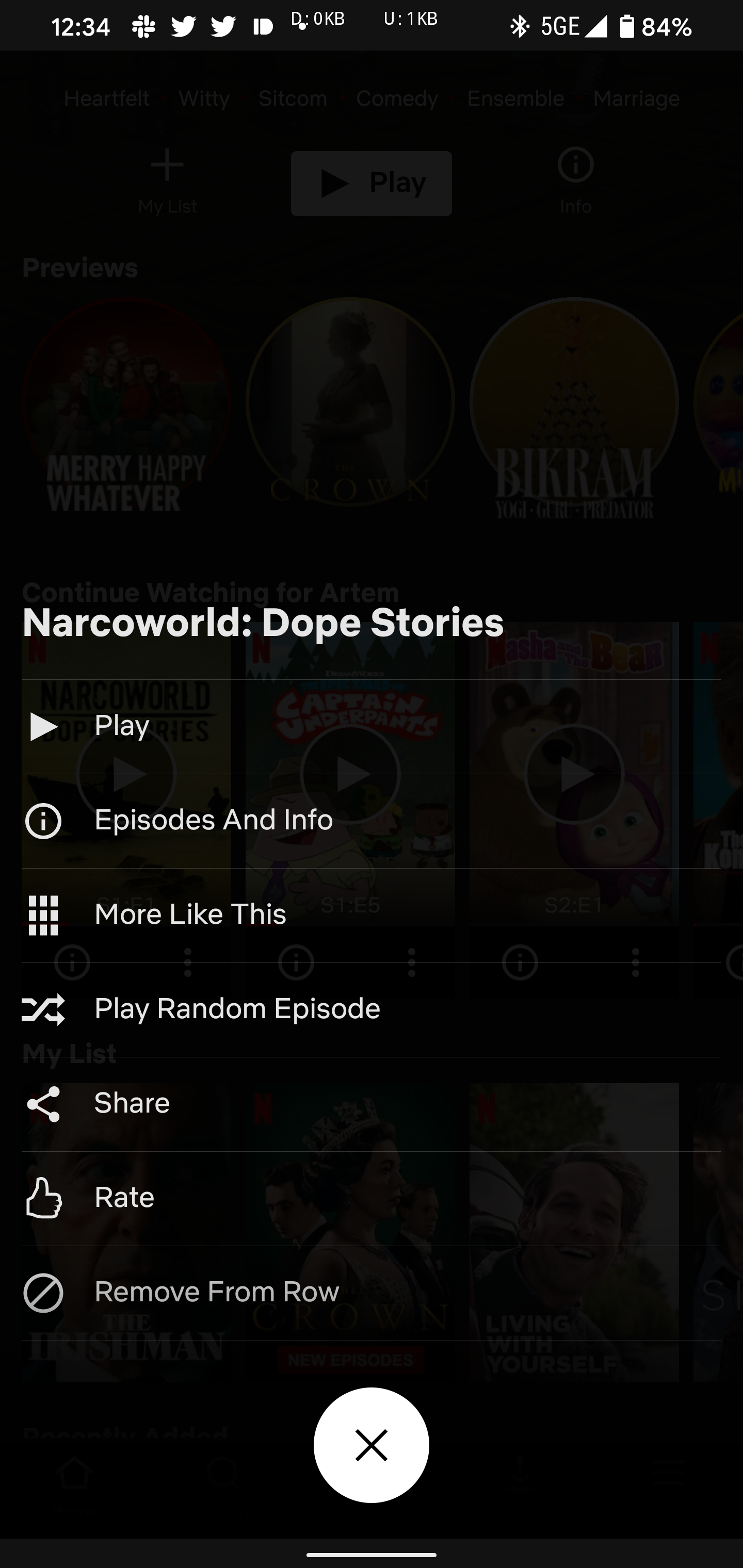 Netflix tests new menu w/ shuffle button, more on Android - 9to5Google