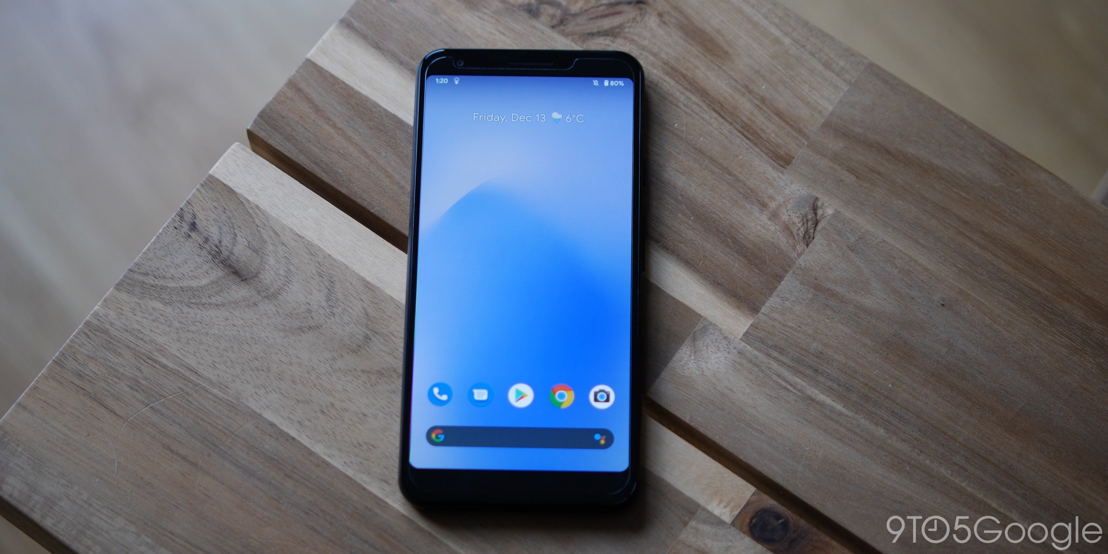 Pixel 3a - display